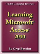 Tutorials to teach or learn Microsoft Access 2010