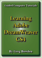 Tutorials to teach or learn Adobe DreamWeaver CS4