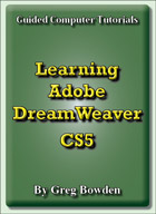 Tutorials to teach or learn Adobe DreamWeaver CS5 or CS5.5