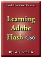 Tutorials to teach or learn Adobe Flash CS6