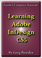 Adobe InDesign CS5 and CS5.5 tutorials