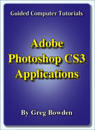 Tutorials on Adobe Photoshop CS3 applications