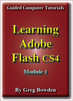 Tutorials to teach or learn Adobe Flash CS4