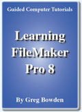FileMaker Pro 8 tutorials