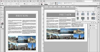Adobe InDesign CC alternate layouts